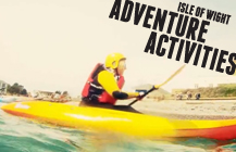 Isle of Wight Adventure Activities promo video